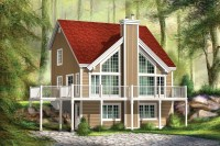 Two-Story Great Room House Plan - 80644PM | Architectural ...