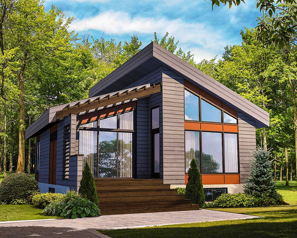 Small Modern Cottage House Plans