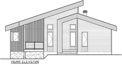 Contemporary Vacation Getaway 80778pm Architectural