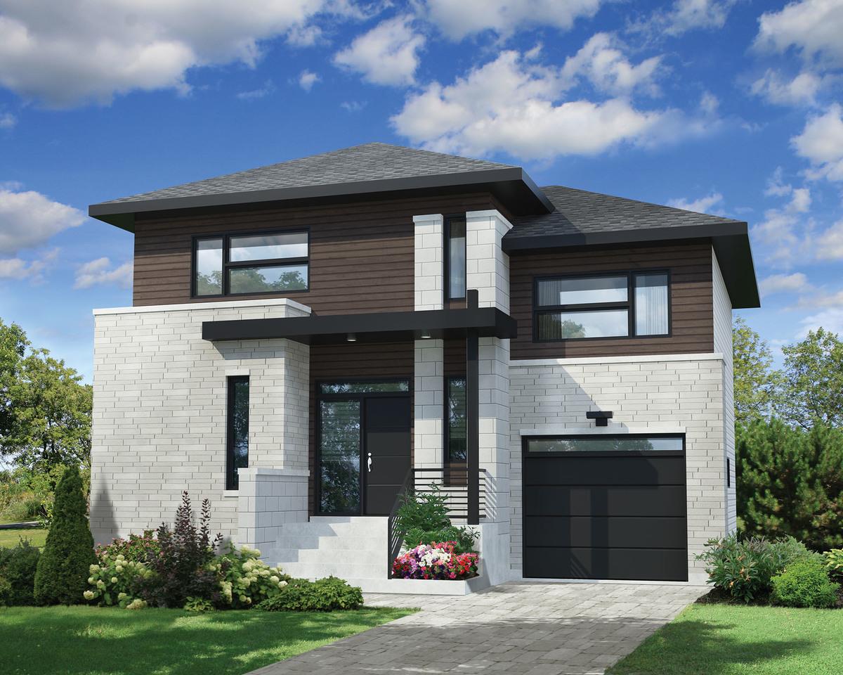 Contemporary Split-Level House Plans
