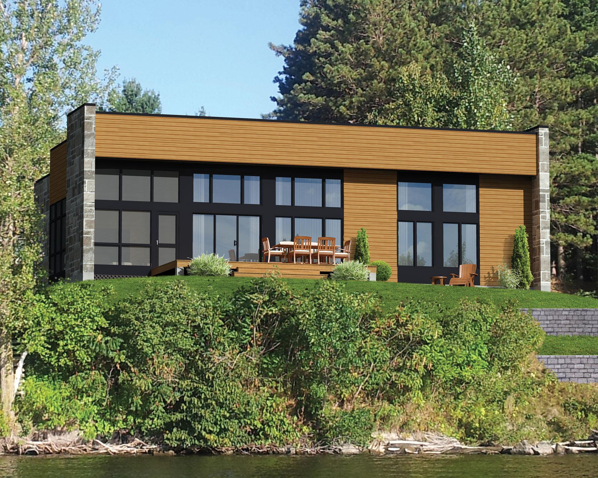 Ranch Style Contemporary - 80811pm Architectural Design