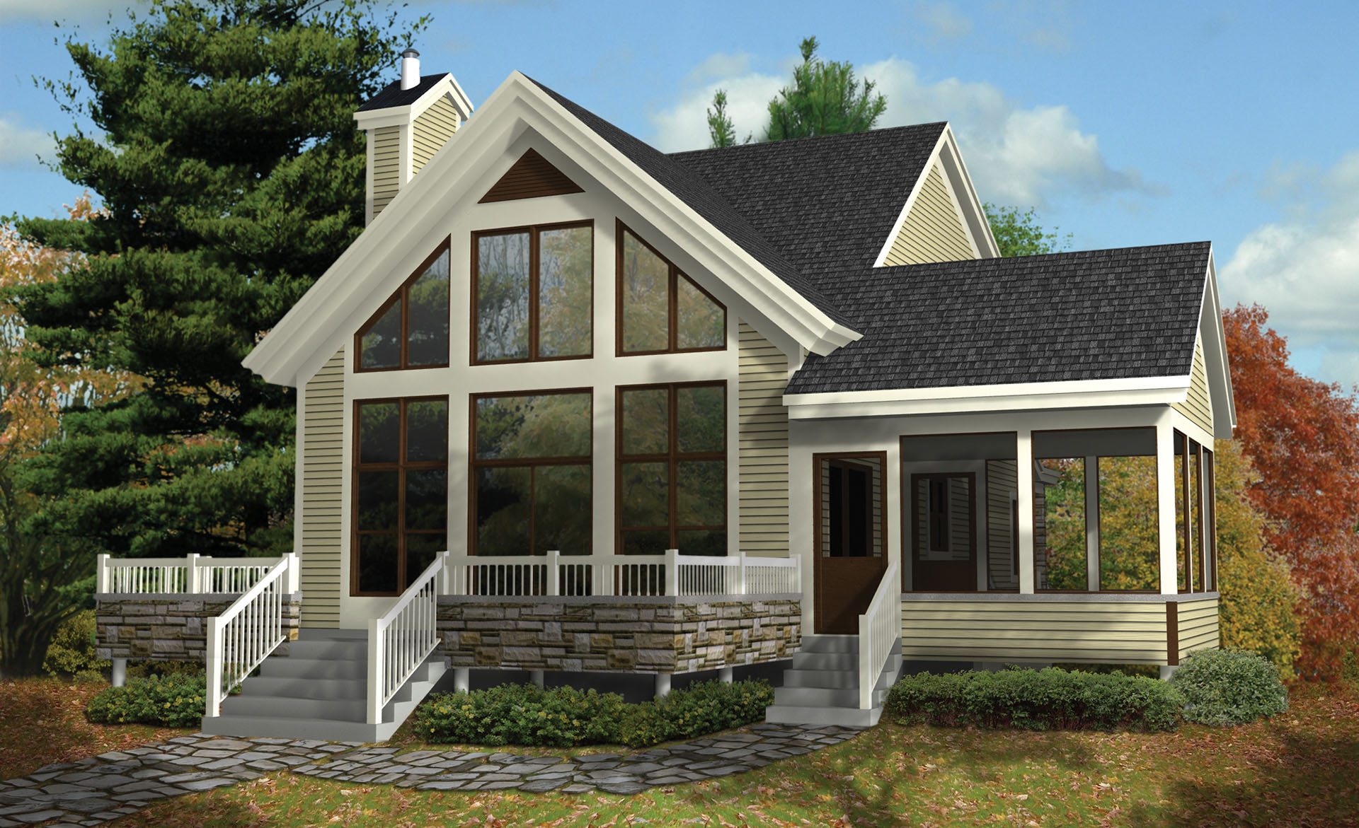 Vacation Haven - 80817pm Architectural Design House Plans