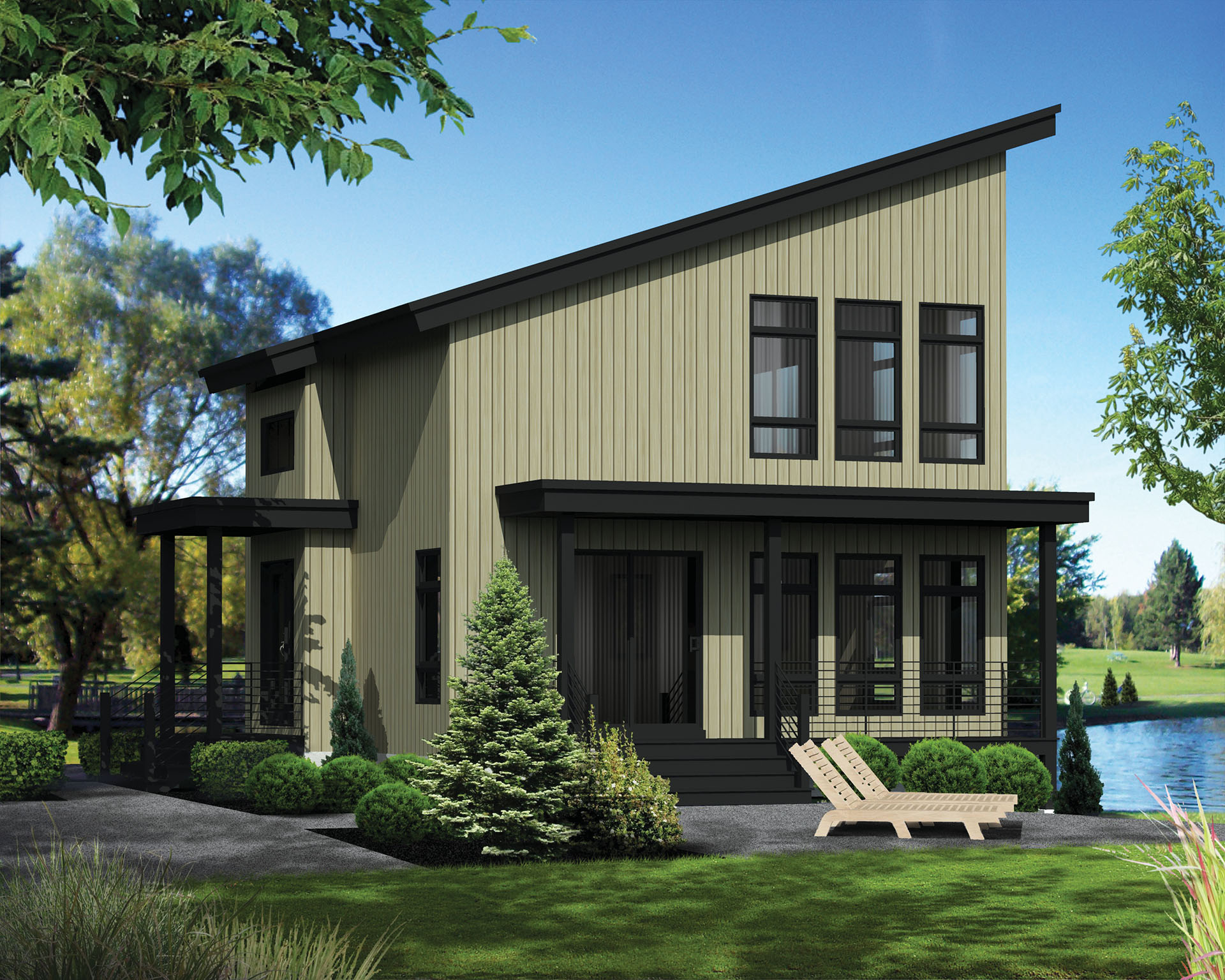 Compact Vacation House Plan 80818pm Architectural