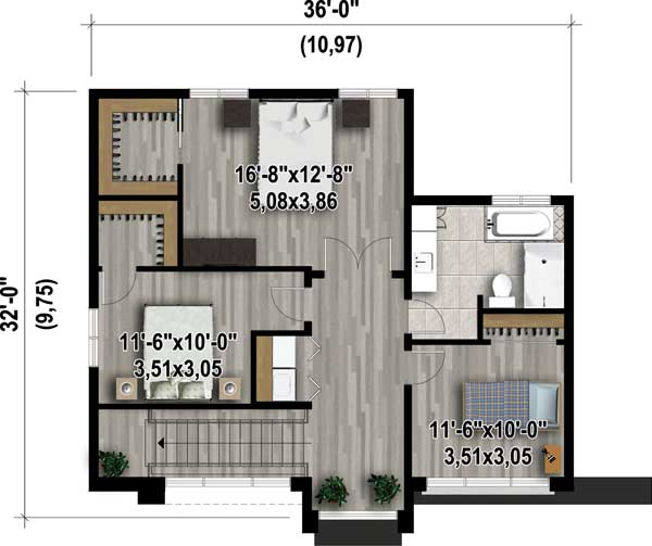 Open Concept Modern House Plan 80827pm Architectural