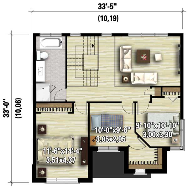 Open Concept Modern House Plan 80830pm Architectural