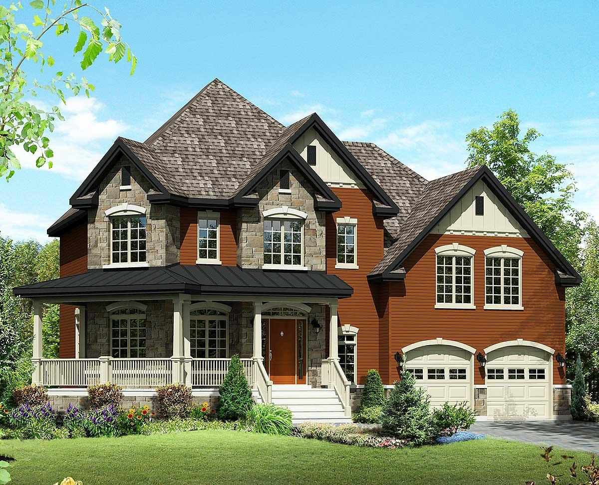Rustic Farmhouse House Plans