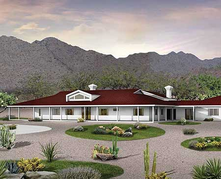 Guest Quarters Included 81348w Architectural Designs
