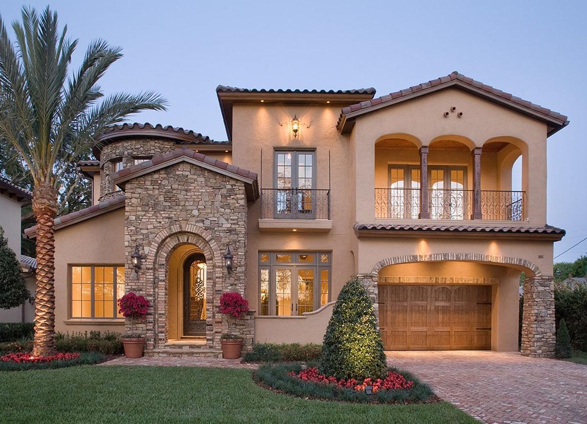 Mediterranean House Plans - Architectural Design