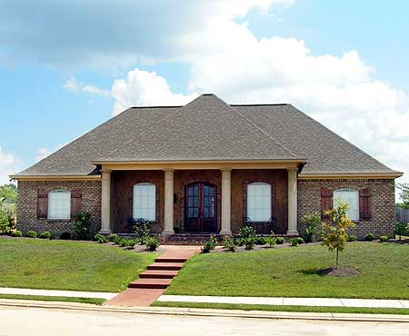 Acadian House Plan With Safe Room 83876jw Acadian
