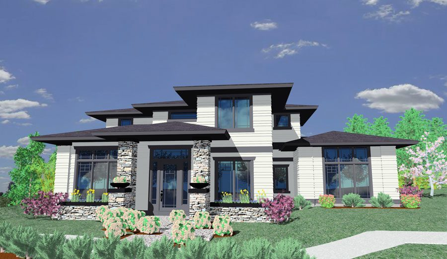 Prairie Style House Plan 85014ms Architectural Designs