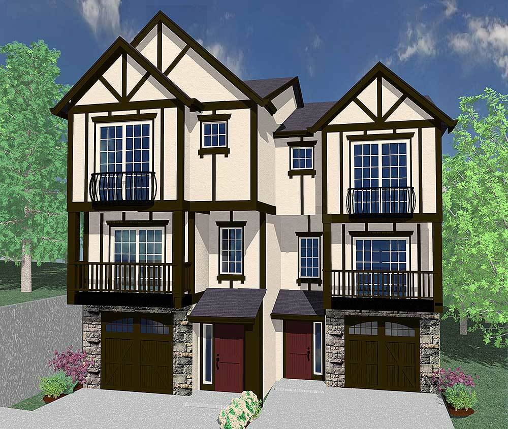 Tudor Duplex Design Plans