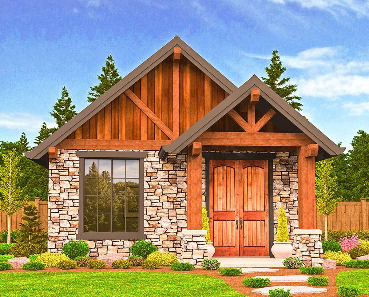 Rustic Guest Cottage Vacation Getaway - 85106ms
