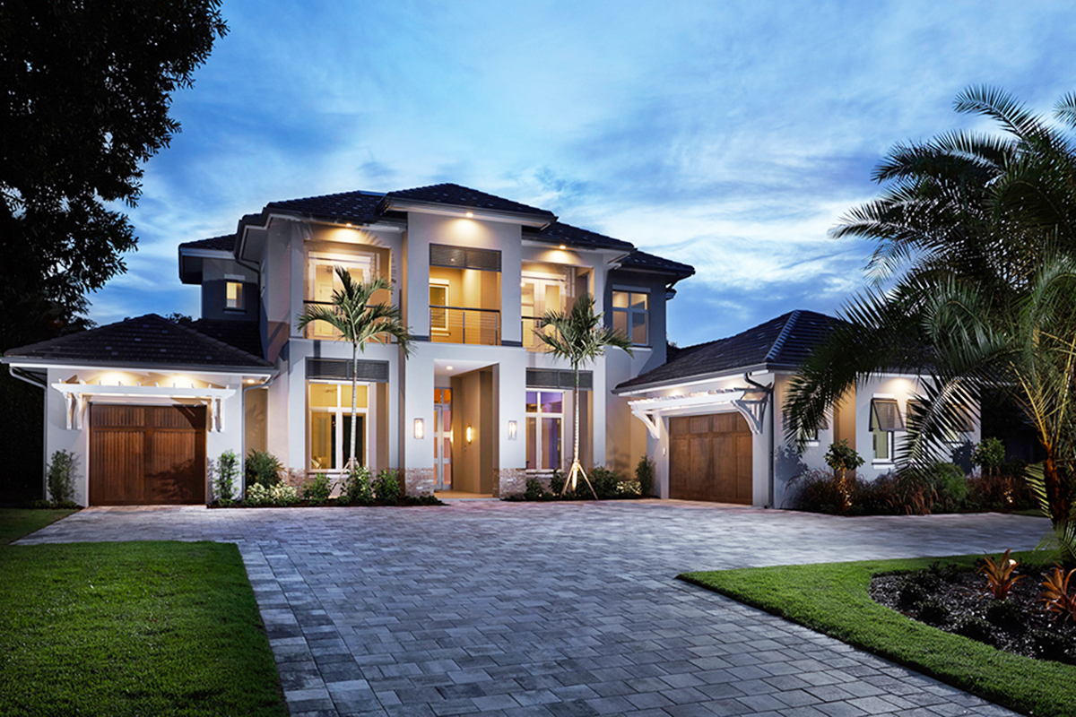 Spacious Florida House Plan With Rec Room - 86012bw