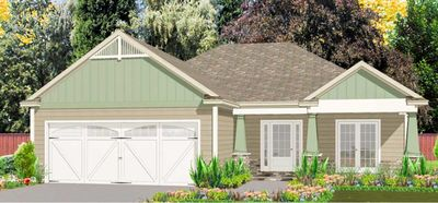 Craftsman Ranch With Exterior Options 86211hh