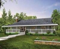 House plans designs wrap around porch - Home design and style