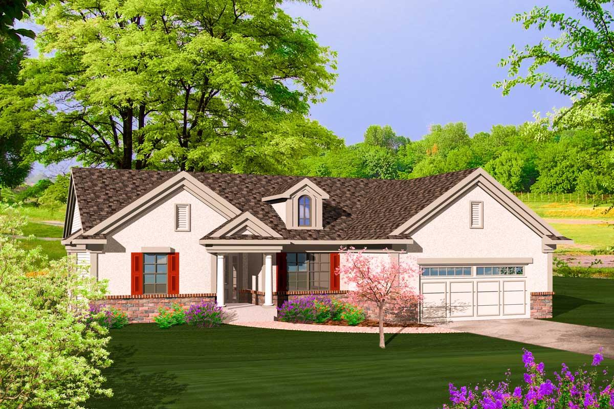 Stucco Architectural Design Homes