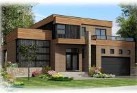 Roof Deck on Contemporary Home Plan - 90231PD ...
