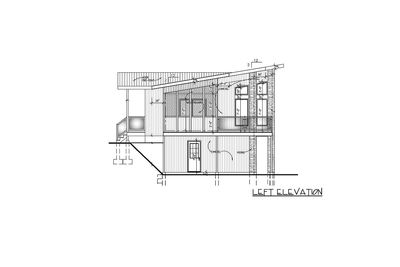Contemporary Home Plan With All Beds Down 90241pd