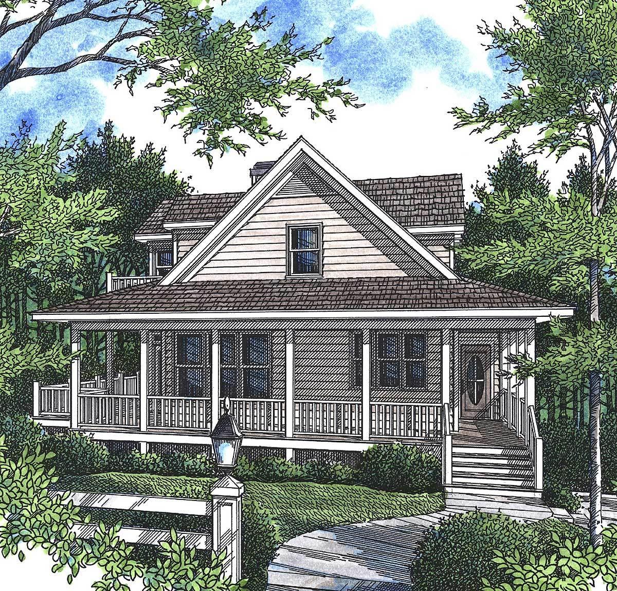 Perfect Mountain Cottage - 92007vs Architectural Design