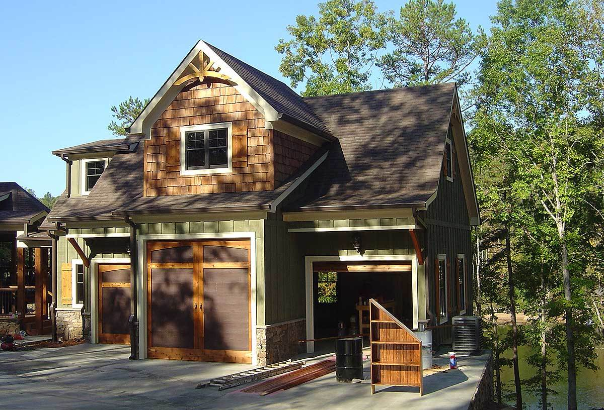 Rustic House Plans with Garage