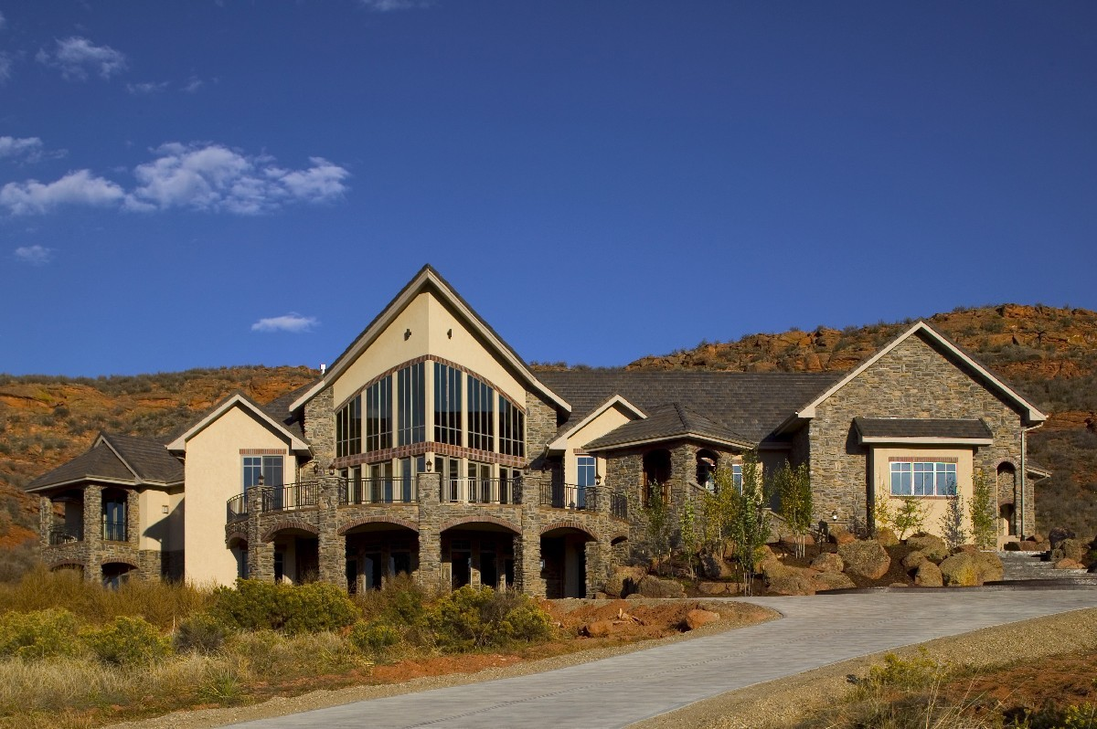 Stunning Mountain Home Plan  9506RW  Architectural Designs  House Plans