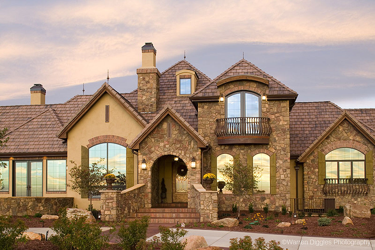 Palatial French Country - 9544rw Architectural Design