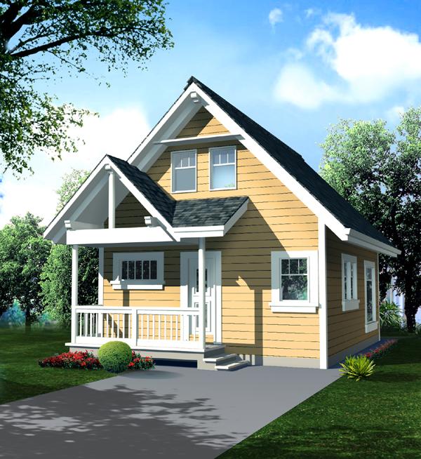 Economical Cottage Design 9806sw 2nd Floor Master