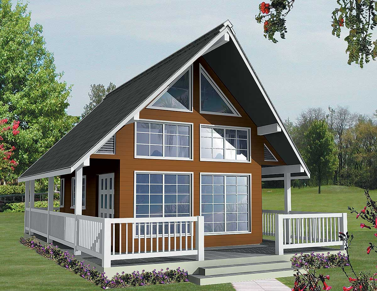 Vacation Home Plans Designs