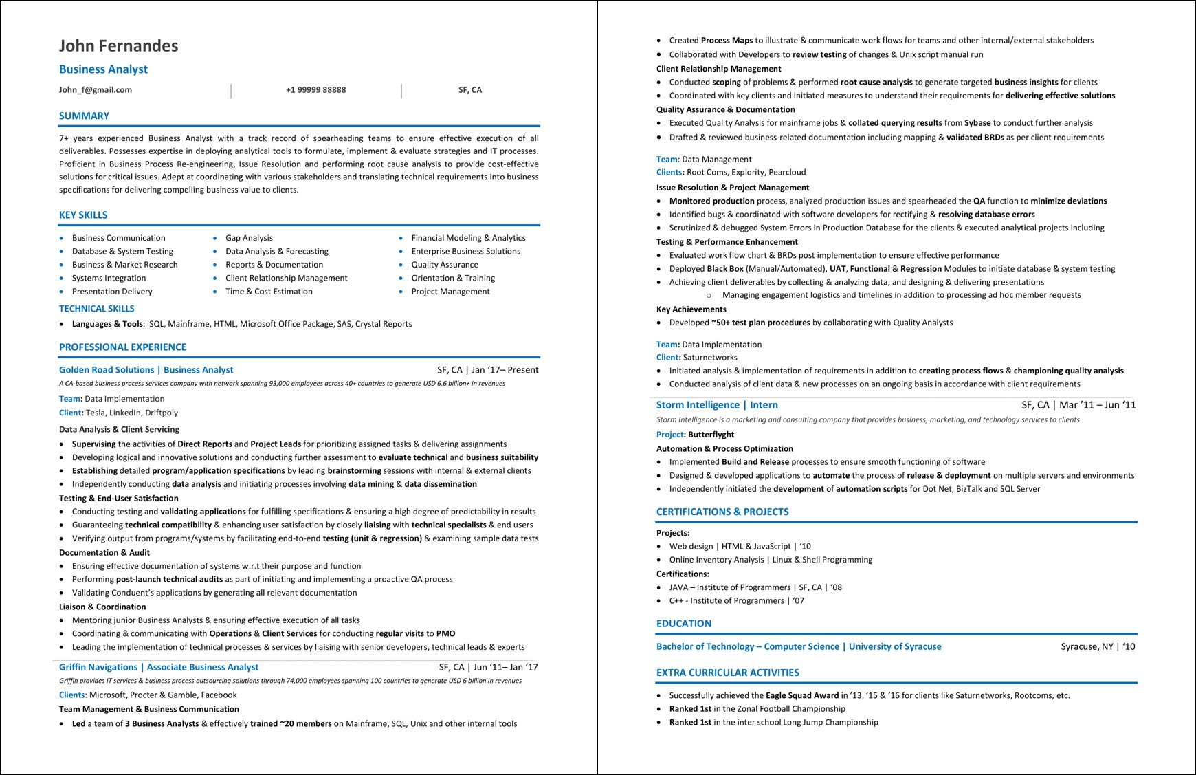 Sample-Business-Analyst-Resume