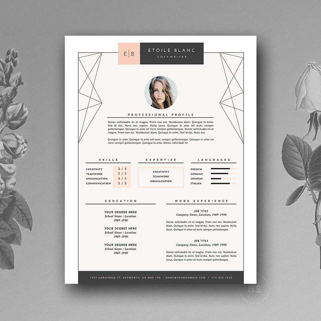 Creative Resumes Creative Resume Template 2019 List Of 10 43 Creative Resume