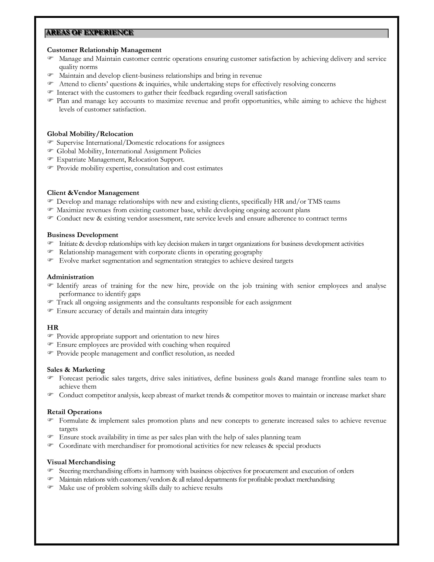 Ad Operations Resume Resume Skills Section 2018 Guide On Skills For Resume 50