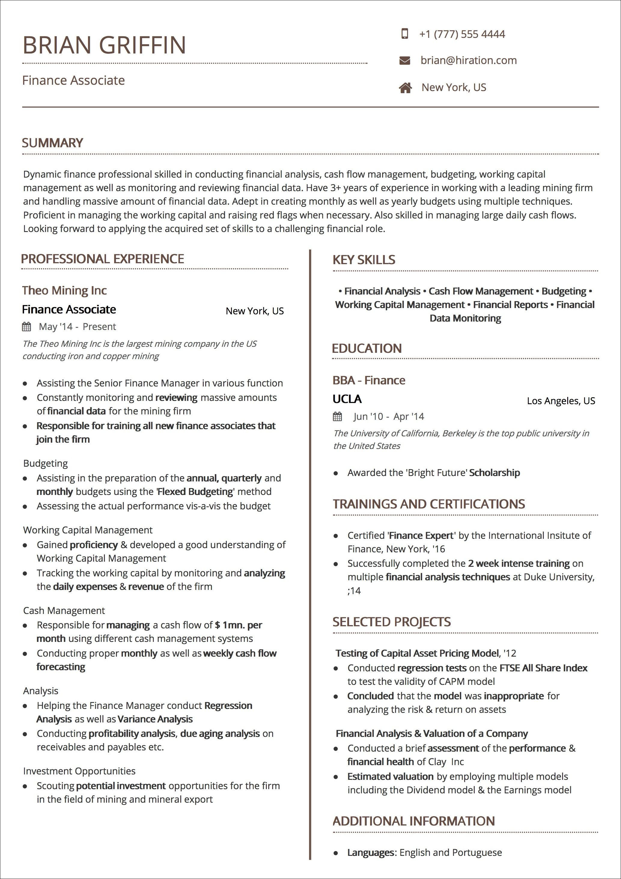 Two Page Resume Header Resume Templates The 2019 Guide To Choosing The Best