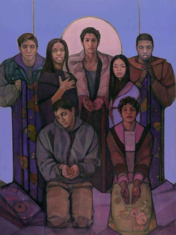 """jesus Of Arrupe College"" Depicts Diverse Students"