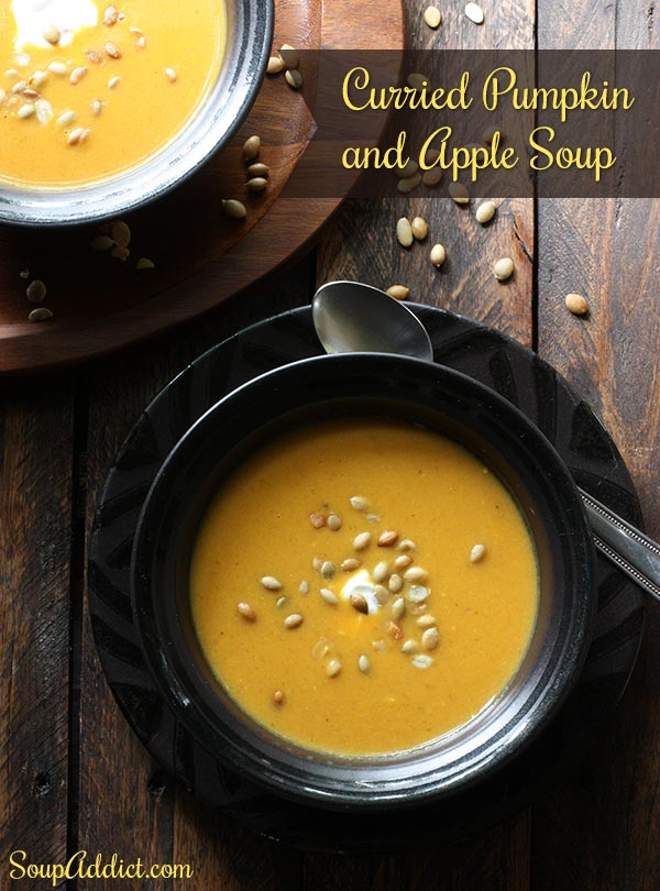 Curried Pumpkin and Apple Soup by SoupAddict.com