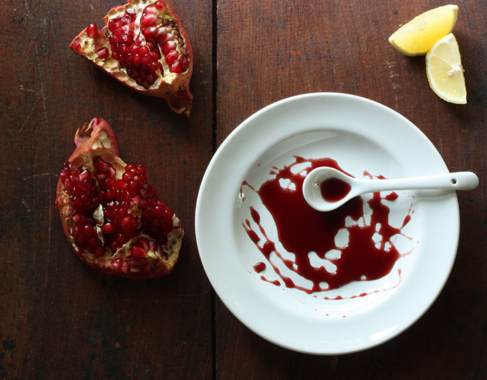 what to do with pomegranate molasses