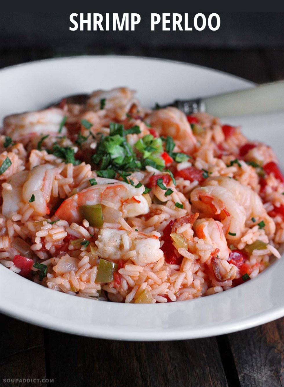 Shrimp Perloo from Soupaddict.com