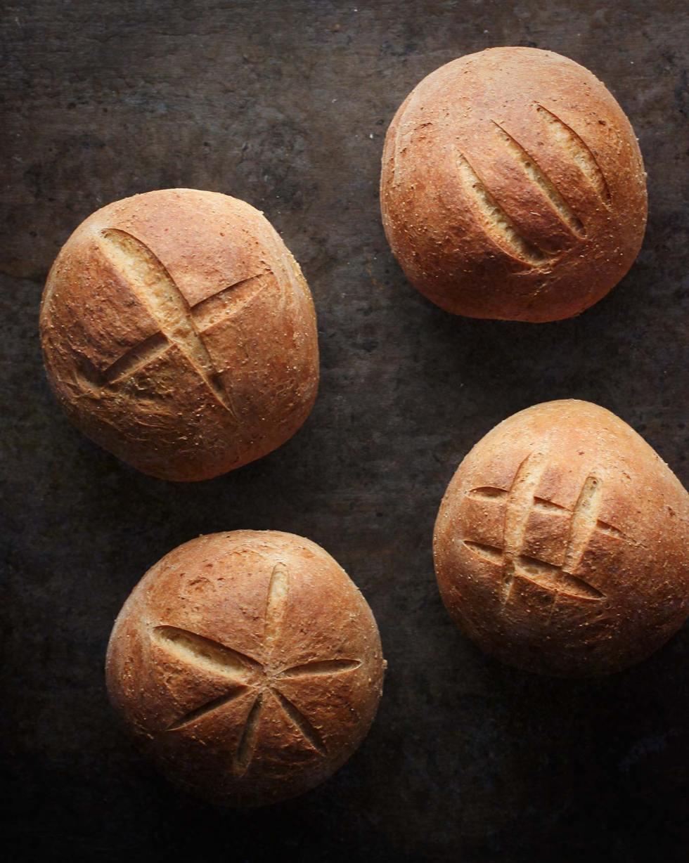 Sourdough Rye Bread Bowls | SoupAddict.com