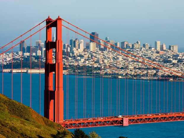 destination-voyage-San-Francisco-États-Unis-Golden-Gate-Bridge