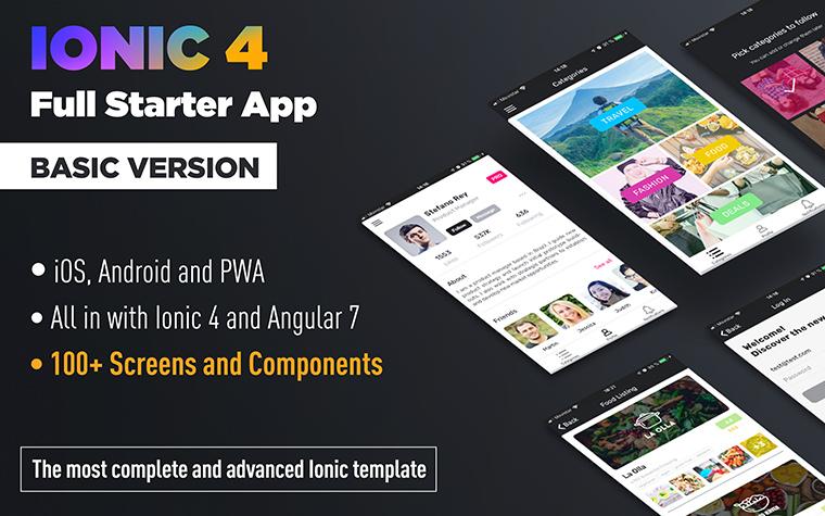 Ionic Framework App Template   Framejdi org
