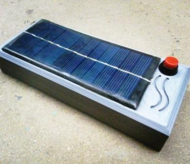 Solar power unit for low power devices