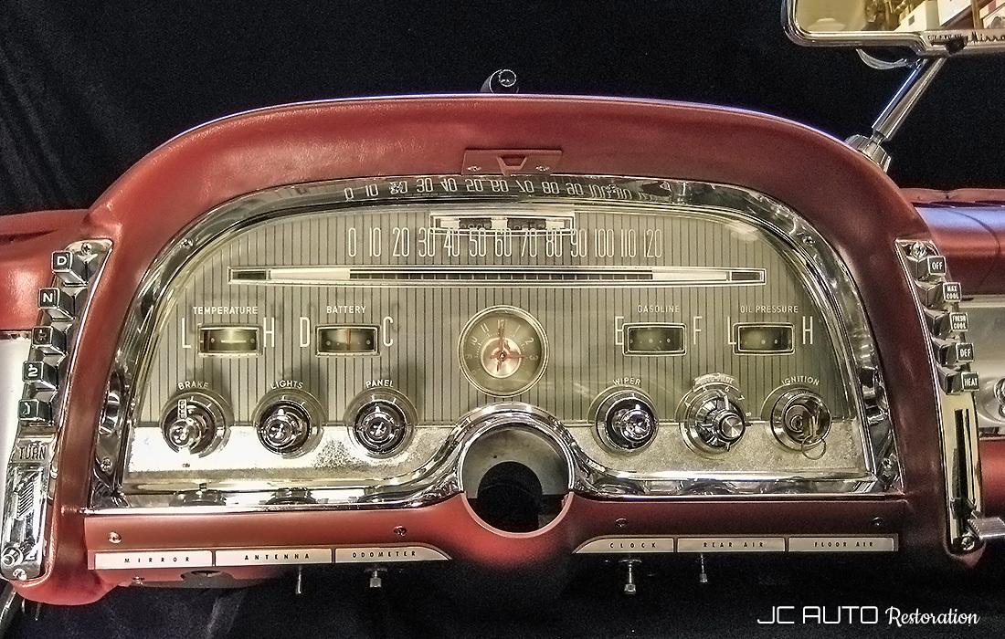 1950 Ford Gauge Cluster