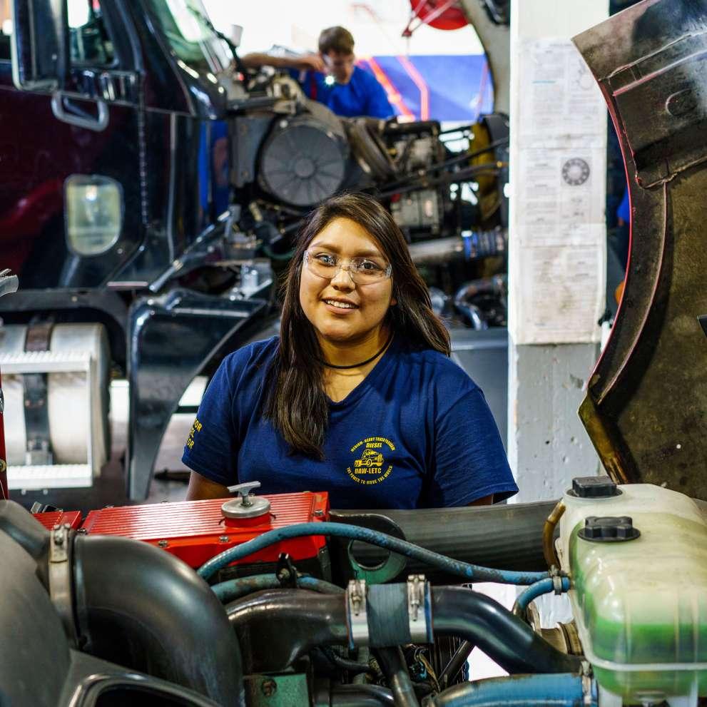Advanced Auto Diesel Collision Job Corps
