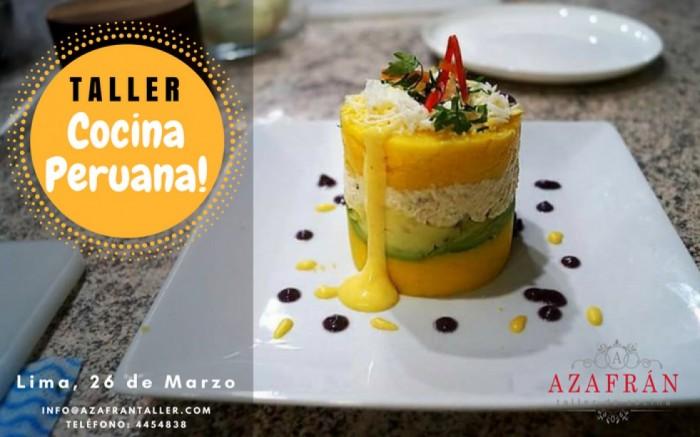 Taller de Cocina Peruana   Joinnus