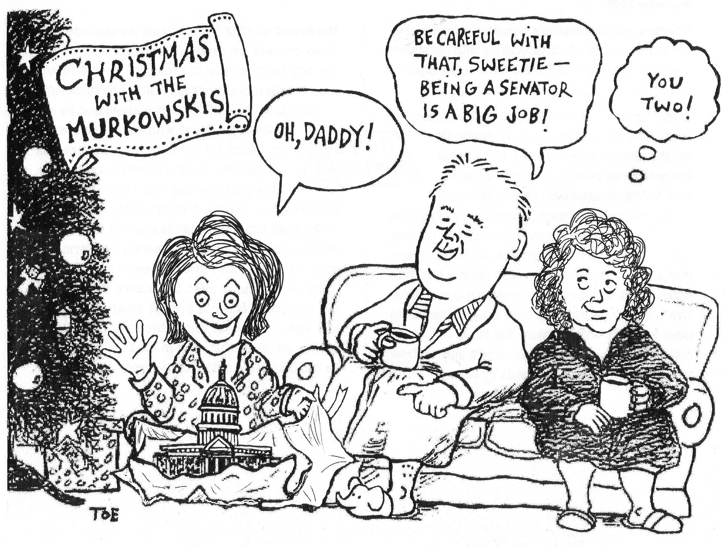 Political Cartoonist S Book Highlights Palin Alaska