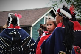 Celebration 2018 grand processional June 6, 2018, Juneau. (Photo by Adelyn Baxter)