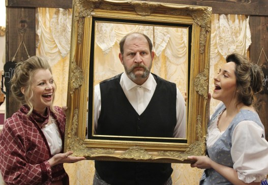 """""""The Underpants"""" opens on Friday night at Perseverance Theatre. (Photo courtesy of Perseverance Theatre)."""