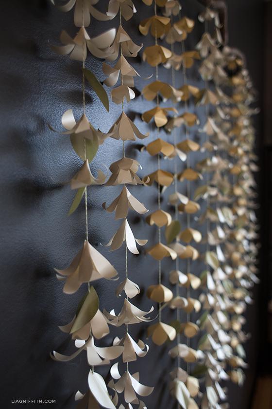 paper flower garland template