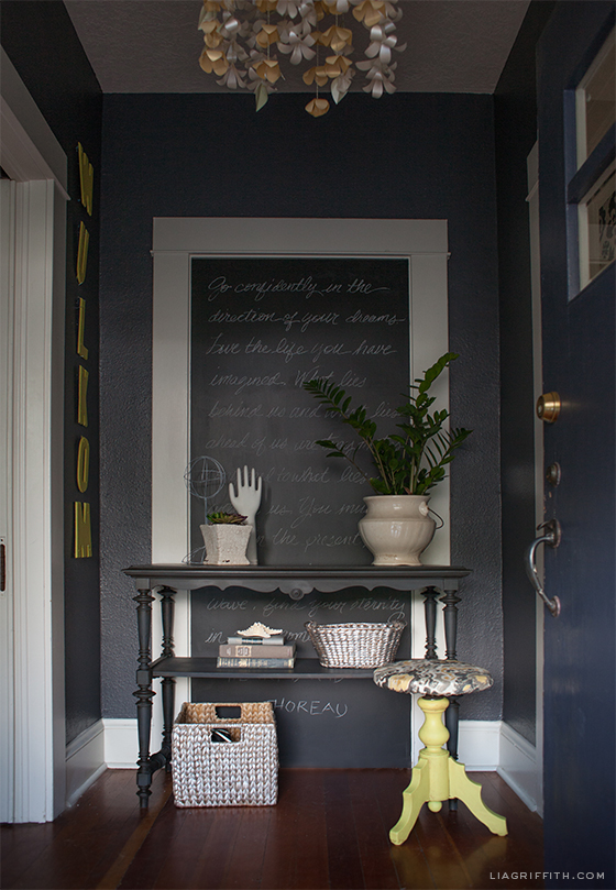 small living room paint ideas modern apartment my home tour: the entryway - lia griffith