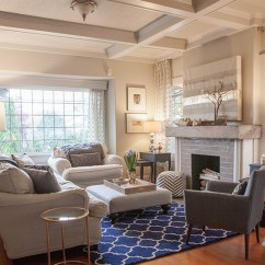 How To Design My Living Room Modern Setup Ideas Home Tour In Navy And Gold Lia Griffith Livingroom Winter Paperwhites Fireplace Details Westelm Chair