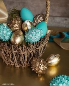 Foiled_Flower_Elegant_Eggs_DIY